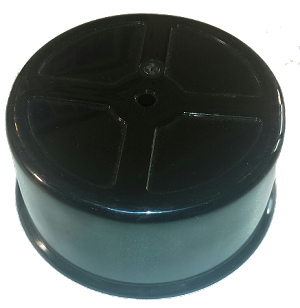 "807310 4760, basic 5"" carb hat, plastic"
